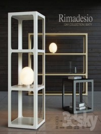 Shelving and table Rimadesio Sixty