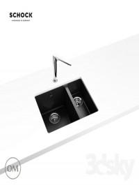 Kitchen sink Schock Quadro 60 Plus