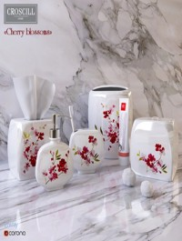 Decorative set of bathroom of Cherry Blossoms Croscill Living
