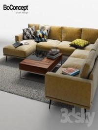 Corner sofa BoConcept