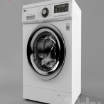 Washing machine LG F1296CDP3