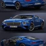 TurbosQuid 3D 2018 Bentley Continental GT