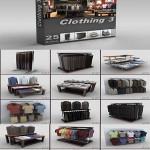 DigitalXModels – 3D Model Collection – Volume 21: CLOTHING 3