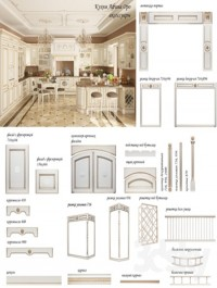 Kitchen Athena Oro Accessories