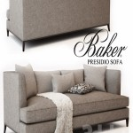 BAKER PRESIDIO SOFA No. 6729S