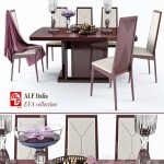 Table and chair EVA colection (ALF italia)