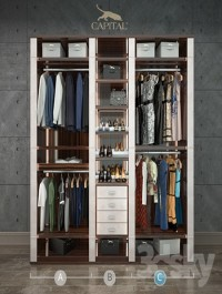 Wardrobe VENERE Capital collection, segment C women's clothing