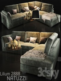 Sofa natuzzi Lilium