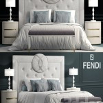 Bed fendi Cameo Maxi Bed