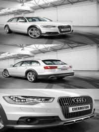 Audi A6 Allroad Quattro 3D Model