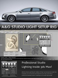 A&G Studio Lighting Setup Pro 1.5 for 3ds Max