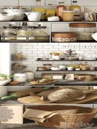 Kitchen set Pottery Barn 03