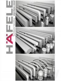 Hafele handles Stanless Steel