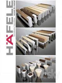 Hafele handles Wood and metal