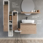 Furniture washbasin SOUL COMPOSITION 01 Bathroom Accessories
