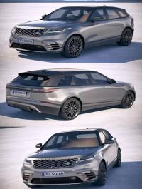 Land Rover Range Rover Velar 2018 3D Model