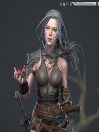 Godess of war 3D Model