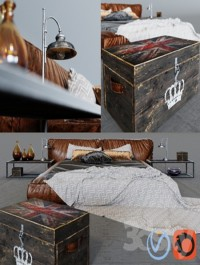 Bed Illini in loft
