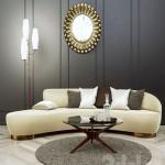 Vladimir KAGAN Free Form Curved Sofa