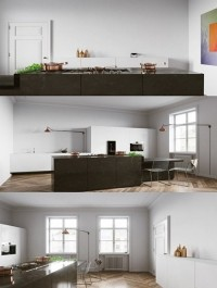 At kitchen Interior Scene by Tomek Michalski