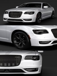 Chrysler 300 SRT LX2 2018 3D Model