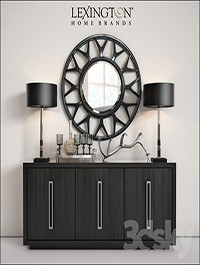 Lexington Targa Buffet & Esprit Round Mirror