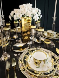 Serving Versace Prestige Gala