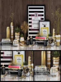 Chanel decorative set