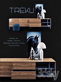 Wall storage / AURA C5 / TREKU