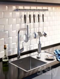 Complete kitchen sink, Artinox + Hansgrohe