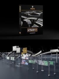 Kitbash3D Props: Highways