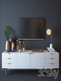 West elm Audrey Media Console