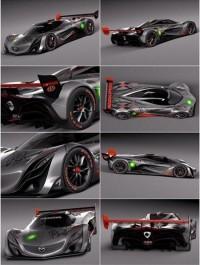 Mazda Furai Concept 2008 3D Model