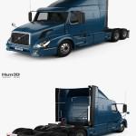 Hum3D Volvo VAH (630) Tractor Truck 2012