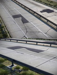 Detailed road 03