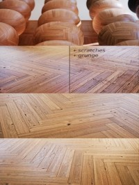 4K Materials: Wood Flooring Vol.02