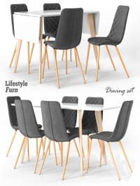 LifestyleFurn dining set