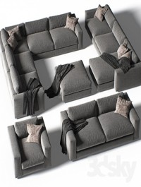 DWR Reid Sectional set