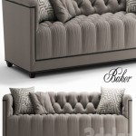 Sofa baker PARIS LOVESEAT