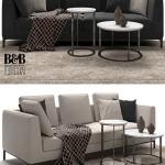 Maxalto B&B Italia Lucrezia To Size Sofa
