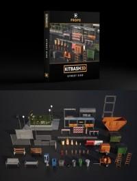 Kitbash3d PROPS: STREET SIDE