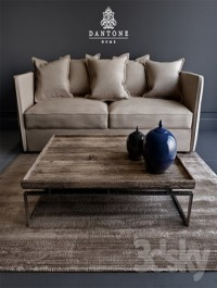 Divan Annecy, coffee table TY380-YM and carpet MAQ-02-Taupe from Dantone home