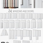 Windows PVC doors