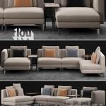 Flou Tay Modular Sofa Composition