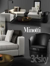 Minotti set 01