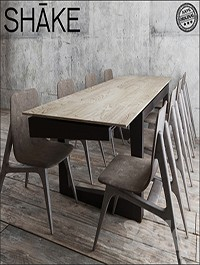 Shake Twist Table Hio chair