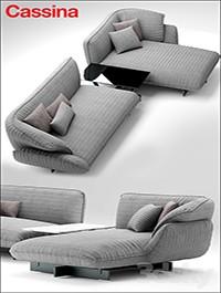 Sofa cassina 550 BEAM SOFA SYSTEM
