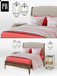 POTTERY BARN Calistoga Bed