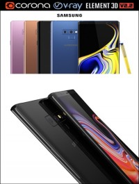 Cubebrush Samsung GALAXY Note 9 all colors