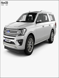 Hum3D - Ford Expedition MAX Platinum 2017